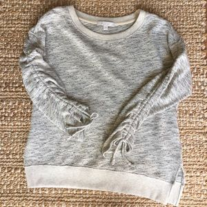 Anthropologie eri + ali marled knit sweater